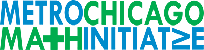 Metro Chicago Mathematics Initiative Logo